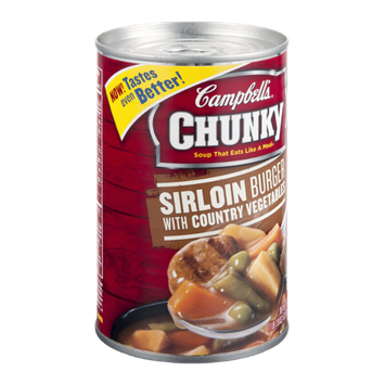 Campbell's Chunky Soup Sirloin Burger With Country Vegetables
