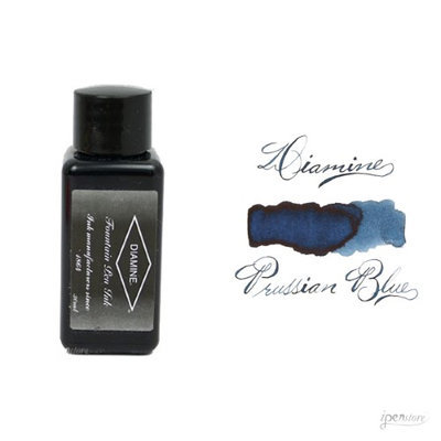 Diamine 30 ml Bottle Fountain Pen Ink, Prussian Blue