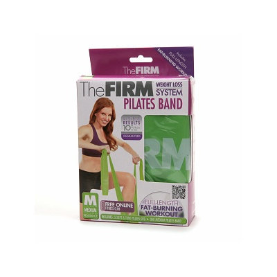 The Firm Pilates Body Band with DVD