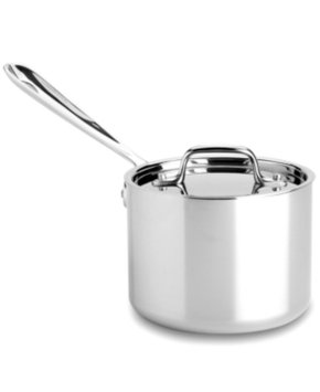 All Clad ALL CLAD Stainless Steel Sauce Pan with Lid 2 Qt