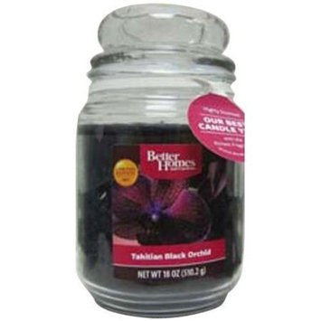 Better Homes and Gardens 18-Ounce Candle, Tahitian Black Orchid