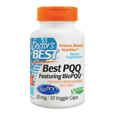 Doctor's Best Best PQQ 20mg Mitochondrial Support, Veggie Capsules