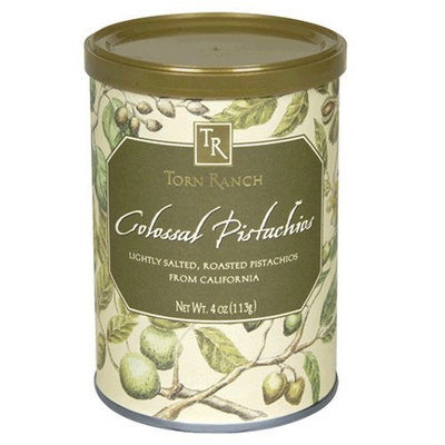 Torn Ranch California Colossal Pistachios, 4-Ounce Canister (Pack of 6)