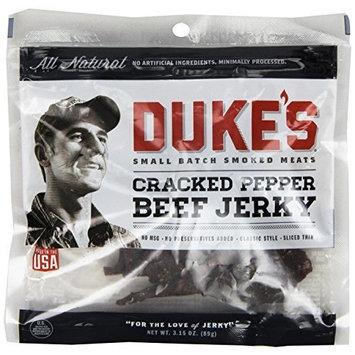 Dukes DUKE'S Black Magic Peppered Beef Jerky, 3.15-Ounce (Pack of 4)