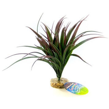 Royal Pet Products Blue Ribbon Pet Products Amazonian Plant with Gravel Base - Plum: Plum