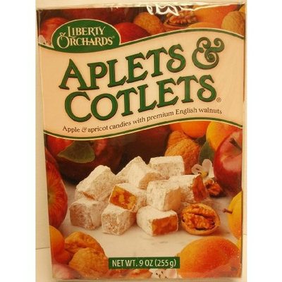 Liberty Orchards Aplets & Cotlets Gift Box 9 oz.