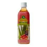 J1 Jayone Aloe Pulp Juice with Vitamin C Pomegranate -- 16.9 fl oz