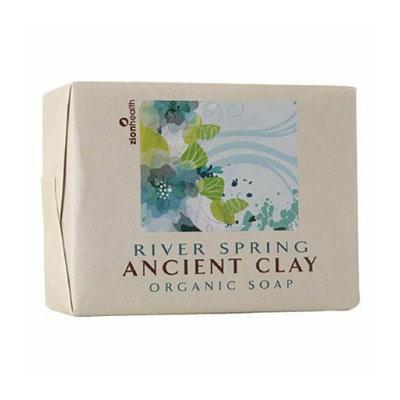 Zion Health Clay Bar Soap River Spring 10.5 oz