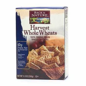 Back to Nature Harvest Whole Wheats