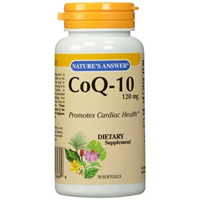 Nature's Answer CoQ-10 Softgels, 30-Count