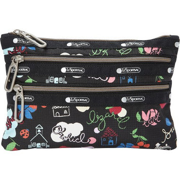 LeSportsac Classic 3 Zip Pouch School's Out - LeSportsac Ladies Cosmetic Bags