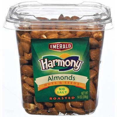 Emerald Harmony Almonds, Roasted/No Salt
