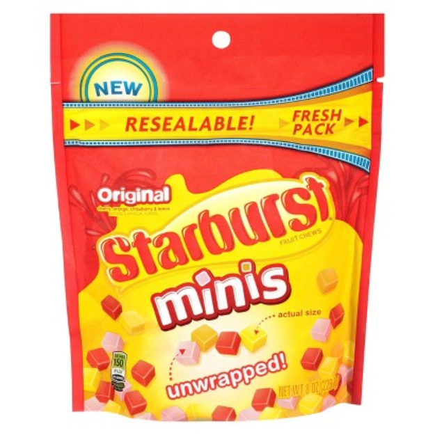 Starburst Original Minis Fruit Chews Candy Bag
