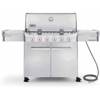 Weber Summit S-620 Natural Gas Grill, Stainless Steel