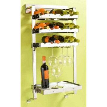 Pegrail 18 in. Classico Wine Bar Set (Polished Chrome)