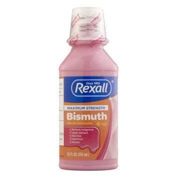Rexall Maximum Strength Bismuth, 12 oz