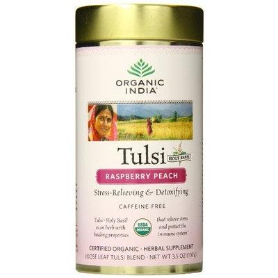 Organic India - Tulsi Loose Leaf Tea Raspberry Peach - 3.5 oz.