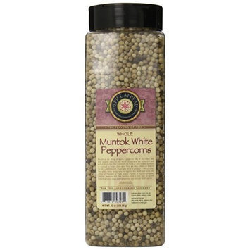 Spice Appeal Muntok White Peppercorns Whole, 22-Ounce Jar