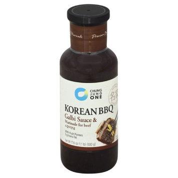 Chung Jung 17.6 oz. Galbi Beef Sauce & Marinade Case Of 6