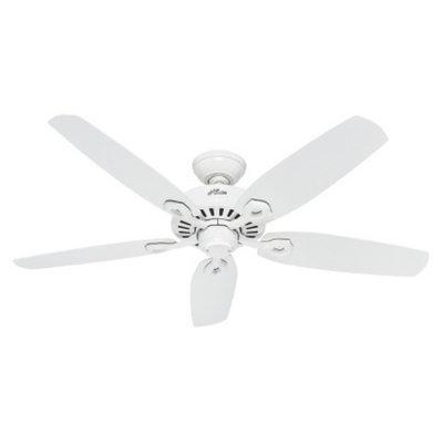 Hunter Fan Builder Elite Ceiling Fan - White