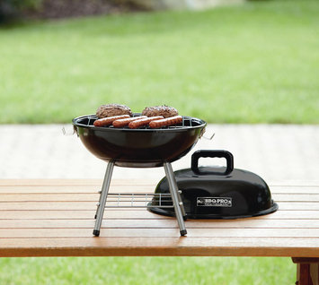Bbq Pro BBQ Pro 14in Tabletop Charcoal Grill - Black
