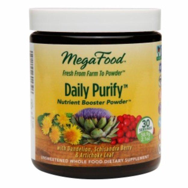 MegaFood Daily Detox Nutrient Boosting Powder, 2.1 oz