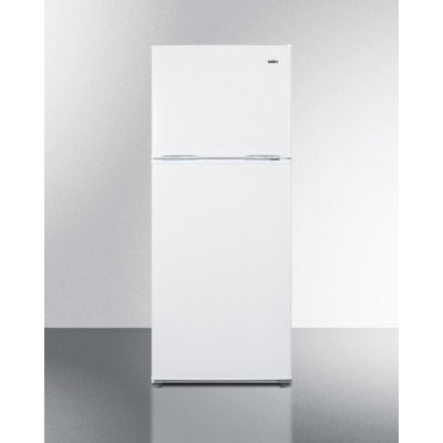 Summit FF1084W 9.9 Cu. Ft. White Top Freezer Refrigerator - Energy Star
