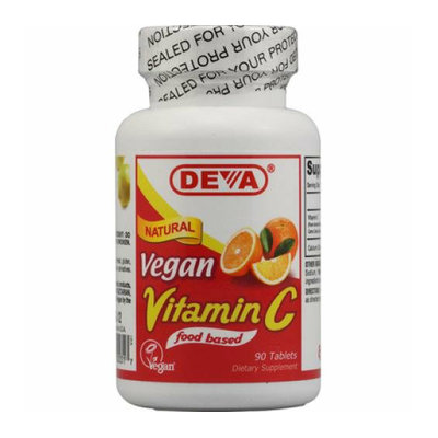Deva Vegan Vitamins Deva Vegan Vitamin C 90 Tablets