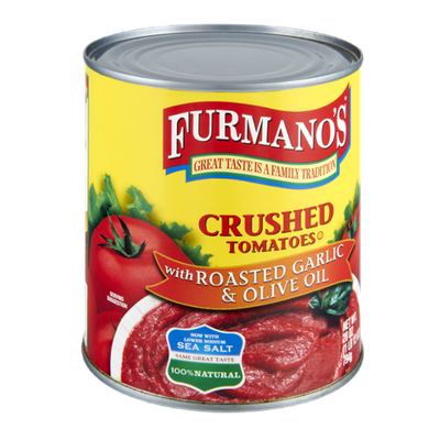 Furmano's Roasted Garlic & Olive Oil Crushed Tomatoes