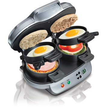 Hamilton Beach HAMILTON BEACH Double Breakfast Sandwich Maker