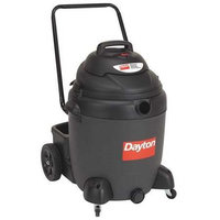 DAYTON 4TB85 Wet/Dry Vacuum, 2 HP, 22 gal, 120V