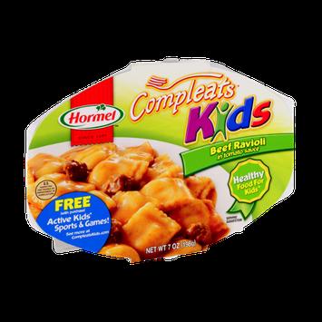 Hormel Compleats Kids Beef Ravioli