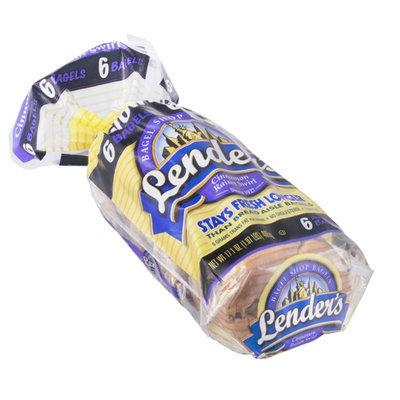 Lender's Bagels Cinnamon Raisin Swirl - 6 CT