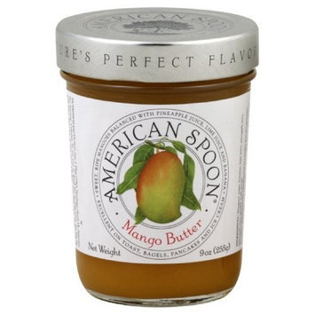 American Spoon Fruit Butter, Mango, 9-Ounce (Pack of 3)