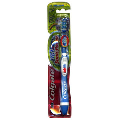 Colgate® 360°® ACTIFLEX Sonic Powered Toothbrush Medium