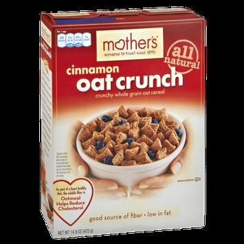 Mother's Cinnamon Oat Crunch Cereal