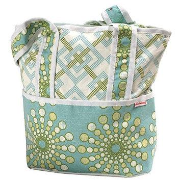 Hoohobbers Tote Diaper Bag - Burt Seagrass - 1 ct.