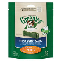 Greenies Hip & Joint Care Dental Chew, Petite, 6 oz