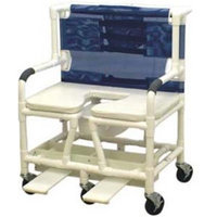 MJM International SSDE-26-BAR Deluxe elongated open front soft seat