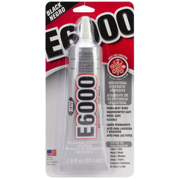 E-6000 Adhesive 2 Ounces-Black