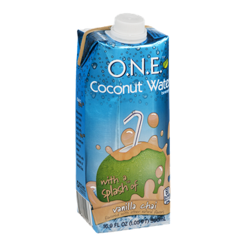 O.N.E. Coconut Water Beverage Vanilla Chai
