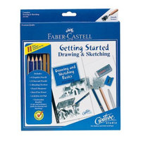 Creativity for Kids Faber-Castell Getting Started Drawing and Sketching Set