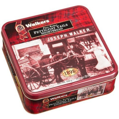 Walkers Shortbread Heritage Tin (Petticoat Tails Triangles), 10.6-Ounce