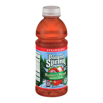 Poland Spring Nature's Blend Spring Water & Real Juice Strawberry