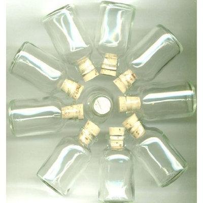 Astrodeals 5 , Clear Glass, Mini Bottles, With, , 5 ,Corks, Clear, Glass Bottles, Little, Vials,13B2.3