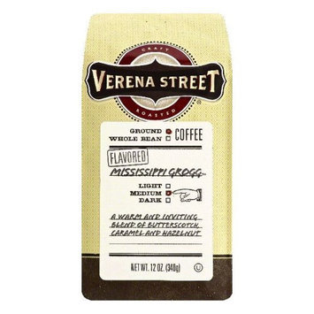 Verena Street 12 oz. Mississippi Grogg Flavored Medium Ground Coffee Case Of 6