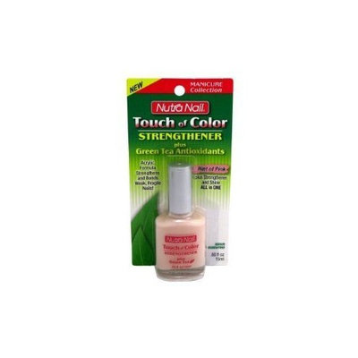 Nutranail Touch Of Color Pink Strengthener + Green Tea 0.5 oz.
