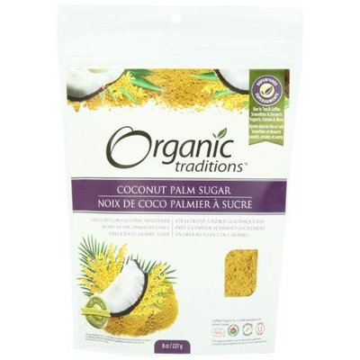 Organic Traditions Coconut Palm Sugar, 8 Ounce