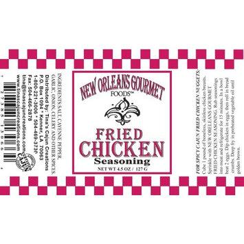 New Orleans Gourmet Cajun Fried Chicken Seasoning