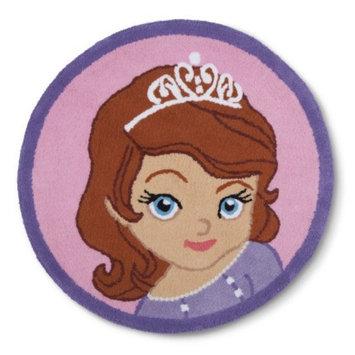 Disney Princess Disney Sofia Scrolls Bath Rug